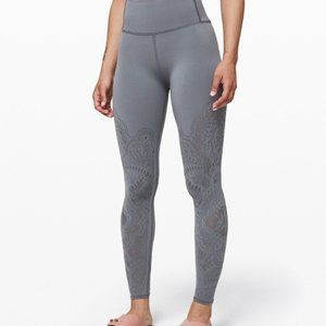 Lululemon NWOT Leggings Reveal Zen Crop High Rise